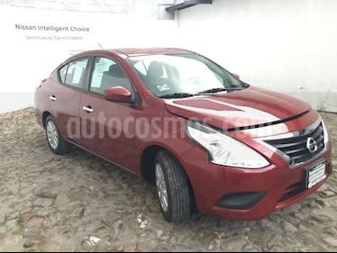 Foto venta Auto Seminuevo Nissan Versa Sense (2018) color Rojo Burdeos precio $205,000