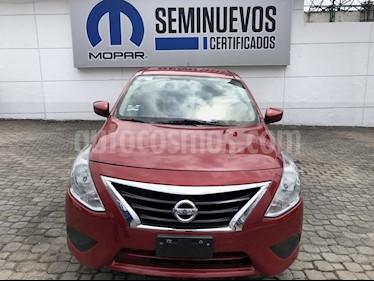 Foto venta Auto Seminuevo Nissan Versa Sense (2015) color Rojo precio $140,000