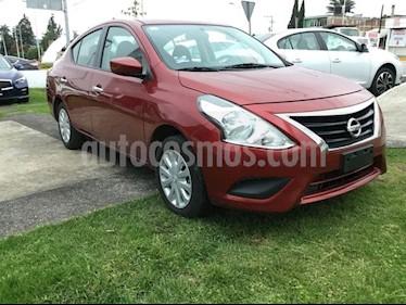 Foto venta Auto Seminuevo Nissan Versa VERSA SENSE AT (2017) color Rojo Burdeos precio $169,000