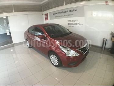 Foto venta Auto Seminuevo Nissan Versa VERSA SENSE MT (2017) color Rojo precio $165,000