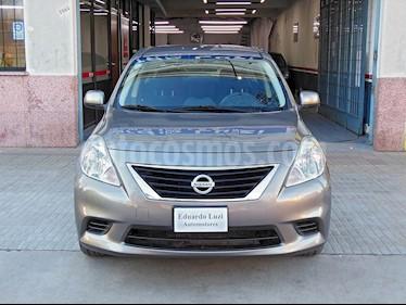 Foto venta Auto Usado Nissan Versa Visia (2013) color Gris Oscuro precio $227.000