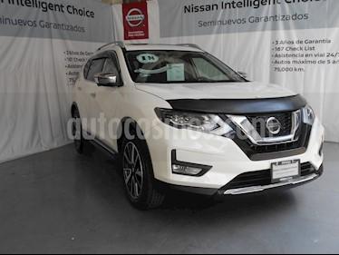 Foto venta Auto Seminuevo Nissan X-Trail Exclusive 2 Row (2018) color Blanco Perla precio $470,000