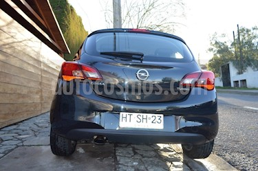Opel Corsa  1.4 3P Enjoy Turbo usado (2016) color Negro Carbon precio $8.600.000