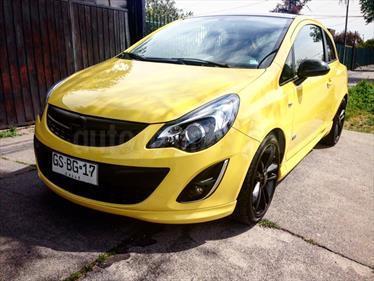 Foto venta Auto usado Opel Corsa  1.4T Enjoy 3p (2014) color Amarillo precio $7.600.000