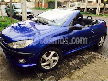 Peugeot 206 CC 1.6L Aut  usado (2004) color Azul Electrico precio $4.000.000