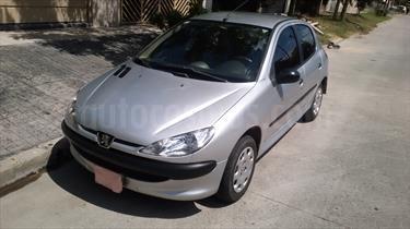 Foto venta Auto Usado Peugeot 206 1.4 Generation 5P (2010) color Gris Plata  precio $110.000
