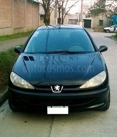 Foto venta Auto usado Peugeot 206 1.4 X-Line 5P (2008) color Negro precio $115.000