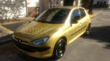 Foto venta Auto Usado Peugeot 206 1.4 X-Line 5P (2007) color Amarillo precio $120.000