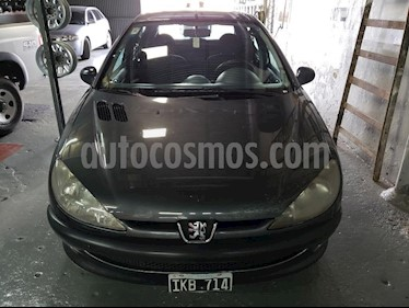 Foto venta Auto Usado Peugeot 206 1.4 XN 3P (2009) color Gris Oscuro precio $150.000