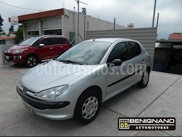 Foto venta Auto Usado Peugeot 206 1.4 XR 5P (2011) color Gris Claro precio $189.000