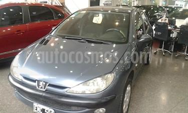 Foto venta Auto usado Peugeot 206 1.6 XR 3P (2004) color Gris precio $107.000