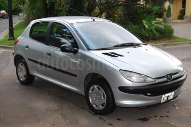 Foto venta Auto usado Peugeot 206 1.6 XR 5P (2002) color Gris precio $105.000