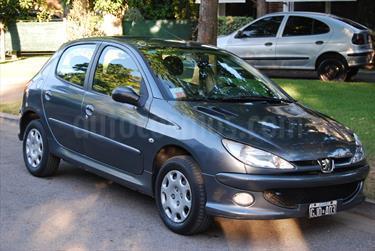 Foto venta Auto usado Peugeot 206 1.6 XT 5P (2007) color Celeste precio $135.000