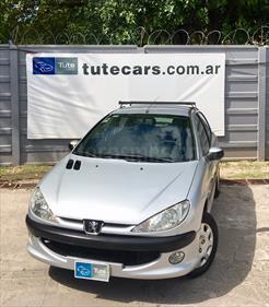 Foto venta Auto Usado Peugeot 206 1.9 D Premium 5P (2007) color Gris Aluminium precio $125.000
