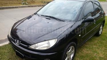 Foto venta Auto Usado Peugeot 206 1.9 XRD Confort 5P (2006) color Negro precio $120.000