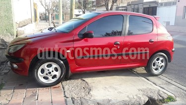 Foto venta Auto usado Peugeot 206 1.9 XRD Premium 5P (2003) color Bordo precio $98.000