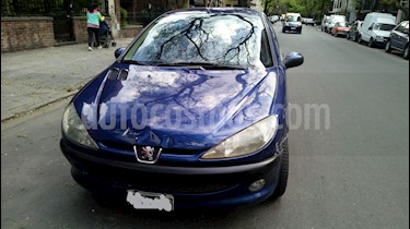 Foto venta Auto Usado Peugeot 206 1.9 XRD Premium 5P (2006) color Azul precio $95.000