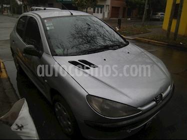Foto venta Auto usado Peugeot 206 1.9D Live! 5P (2006) color Gris precio $128.000