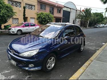 Foto venta Auto usado Peugeot 206 3P XR 1.6 (2005) color Azul precio $30,000