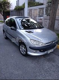 Foto venta Auto Seminuevo Peugeot 206 3P XS X-Line 1.6 (2003) color Gris precio $43,000