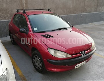 Peugeot 206 5P 16V XR Ac usado (2007) color Rojo precio $1.800.000