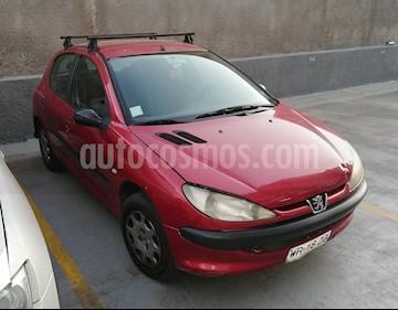 Foto venta Auto Usado Peugeot 206 5P 16V XR Ac (2007) color Rojo precio $2.200.000