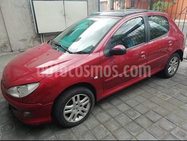 Foto venta Auto usado Peugeot 206 5P D-sign 1.4 (2009) color Rojo Lucifer precio $67,000