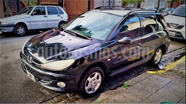 Foto venta Auto usado Peugeot 206 SW 1.6 Premium (2007) color Negro precio $120.000