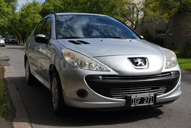 Foto venta Auto usado Peugeot 207 Compact 1.6 XS 5P (2009) color Gris precio $125.000