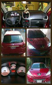 Foto venta carro usado Peugeot 207 Compact XT 1.6L (2012) color Vino Tinto precio u$s3.200