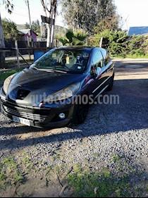 Peugeot 207 3P 1.6 Turbo RC  usado (2011) color Gris precio $5.600.000