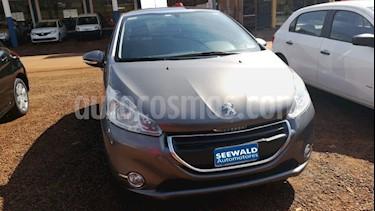 Foto venta Auto Usado Peugeot 208 1.6 N 16v Allure (115cv) (2013) color Gris Oscuro precio $290.000