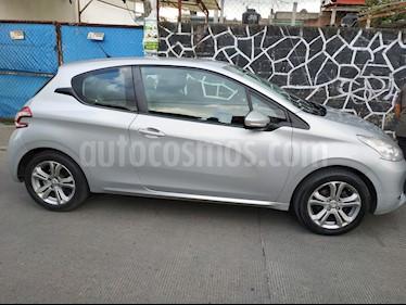 Foto venta Auto usado Peugeot 208 1.6L Allure 3P (2014) color Gris Aluminium precio $129,000