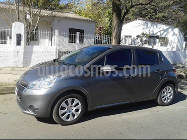Foto venta Auto Usado Peugeot 208 Active 1.5 (2015) color Gris Aluminium precio $278.000