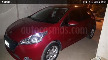 Foto venta Auto Usado Peugeot 208 Allure 1.5 Full  (2014) color Bordo precio $203.000