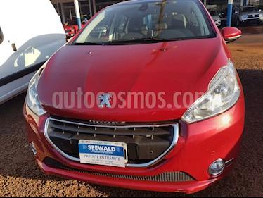 Foto venta Auto Usado Peugeot 208 Feline 1.6 N 5p Pack Cuero (2014) color Rojo precio $330.000