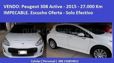 Foto venta Auto Usado Peugeot 308 Active (2015) color Blanco Banquise precio $270.000