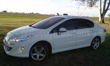 Foto venta Auto Usado Peugeot 408 Feline (2014) color Blanco Banquise precio $315.000
