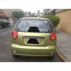 Foto venta Auto Usado Pontiac Matiz A (2006) color Verde Oliva precio $45,500