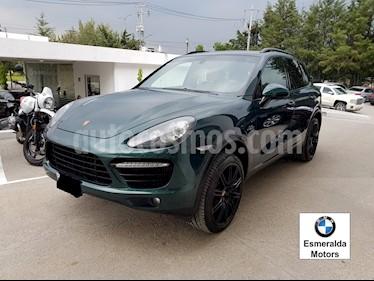 Foto venta Auto Seminuevo Porsche Cayenne S 4.8L (2014) color Verde Metalico precio $900,000