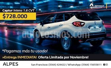 Foto venta Auto Usado Renault Captur Intens 1.6 CVT (2018) precio $728.000