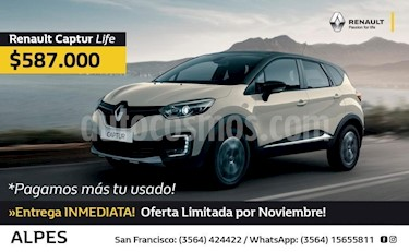 Foto venta Auto Usado Renault Captur Intens 1.6 CVT (2018) precio $587.000
