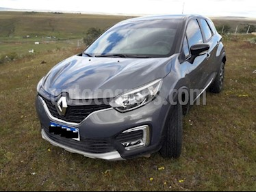 Foto venta Auto usado Renault Captur Intens (2017) color Gris Oscuro precio $470.000