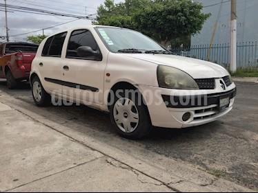 Foto venta Auto usado Renault Clio 1.6L Authentique Ac (2002) color Blanco precio $37,000