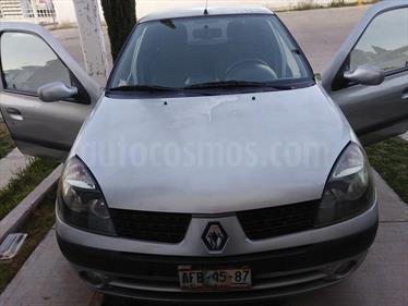 Foto venta Auto usado Renault Clio 1.6L Expression (2004) color Gris Plata  precio $43,500