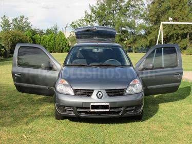 Foto venta Auto usado Renault Clio 3P 1.2 Campus Pack II (2012) color Gris Acero precio $170.000