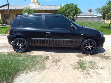 Foto venta Auto Usado Renault Clio 3P 1.2 Pack (2008) color Negro Basalto precio $90.000
