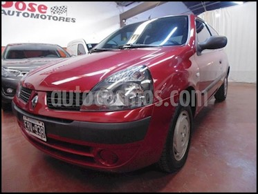 Foto venta Auto Usado Renault Clio 3p Authentique 1.2 Pack I (2004) color Bordo precio $95.000