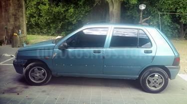 Foto venta Auto usado Renault Clio 5P RT (1996) color Celeste precio $58.000