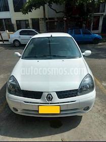 Foto venta Carro Usado Renault Clio Authentique cool (2009) color Blanco precio $16.500.000